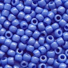 Toho 8/0 Seed Beads Opaque Periwinkle 48L - 10 grams